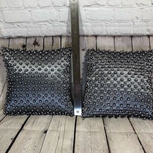 Pier 1 Beaded Pillows. Set of 2
